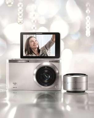 """Samsung apresenta câmera para """"welfies"""""""