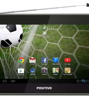 Positivo lança tablet com TV digital para Copa do Mundo