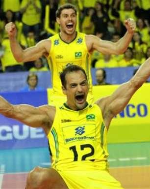 Brasil supera Polônia e vence primeira na Liga Mundial