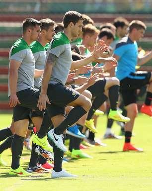Copa do Mundo: veja fotos do treino da seleção da Austrália