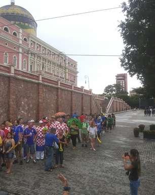 AM: com viagem de 50min, turistas aprovam mobilidade da Copa