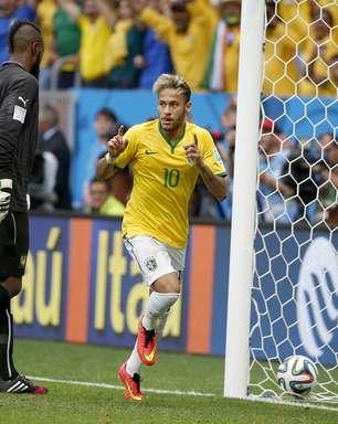 Estrela e artilharia da Copa; Neymar comanda Seleção no DF