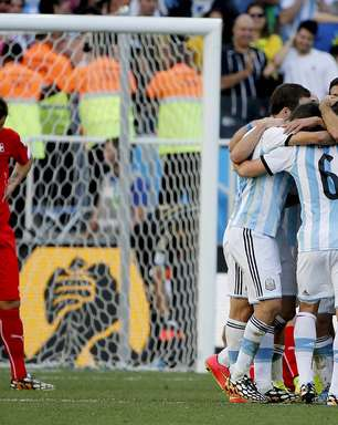 Veja fotos de Argentina x Suíça