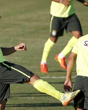 Seleção treina em Fortaleza antes de partida decisiva