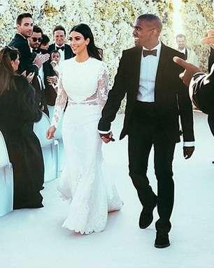 Kim Kardashian é eleita uma das noivas mais estilosas
