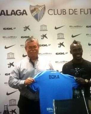 Destaque da Costa do Marfim na Copa, Boka chega ao Málaga