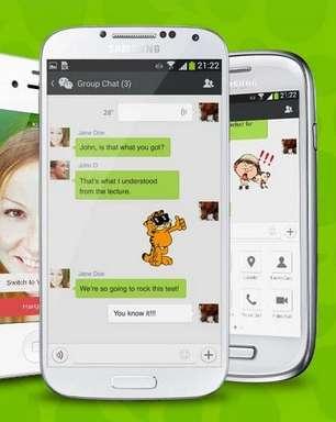 Aplicativo de mensagens WeChat começa a exibir anúncios