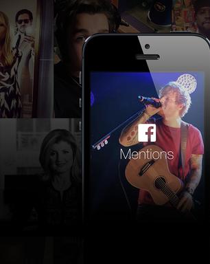 Facebook lança aplicativo para celebridades