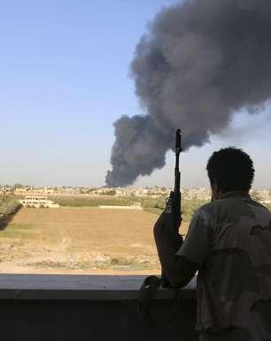 Combates deixam 22 mortos e 72 feridos na capital da Líbia