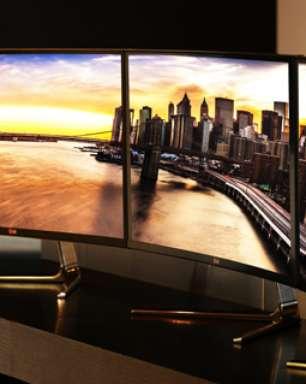 LG vai mostrar novo monitor curvo em feira de eletrônicos