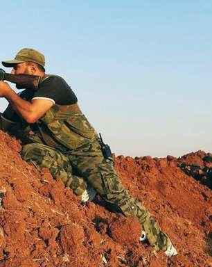 Exército e jihadistas lutam por controle de aeroporto sírio