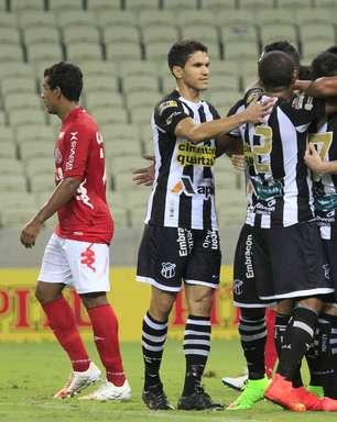 """Ceará vence em Fortaleza e segue """"na caça"""" por vaga no G-4"""
