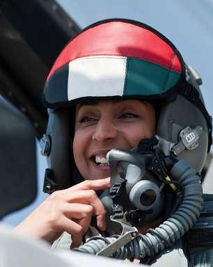 Mulher comandou bombardeios dos Emirados Árabes na Síria