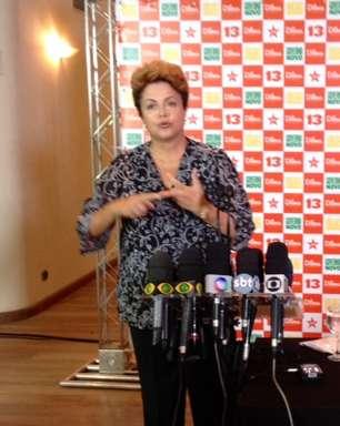 Dilma diz que Aécio não está acostumado a receber críticas