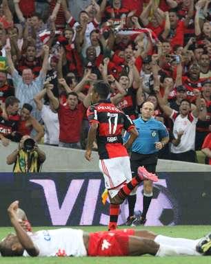 Veja fotos de Flamengo x América-RN pela Copa do Brasil