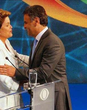 Dilma e Aécio fazem acordo por fim de ofensas pessoais na TV