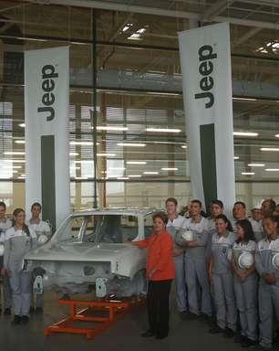 Dilma faz visita a fábrica usada em disputa eleitoral em PE