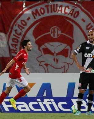 América-RN impõe 2ª derrota seguida e liga alerta no Vasco