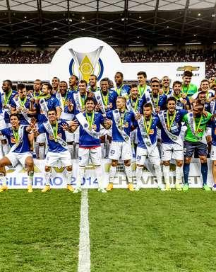 Bi, Cruzeiro assume liderança do ranking de clubes da CBF