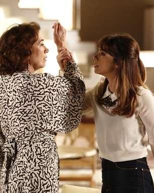 Em 'Império', Marta descobre caso entre Maurílio e Danielle
