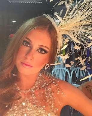Marina Ruy Barbosa mostra look carnavalesco de 'Império'