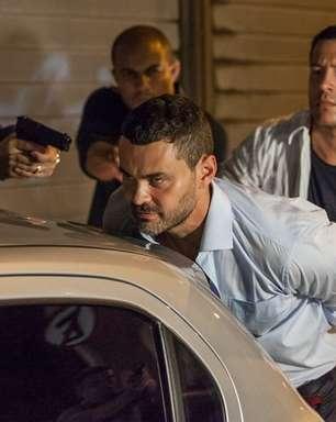 'Império': Maurílio é preso e Zé o pressiona sobre cúmplice