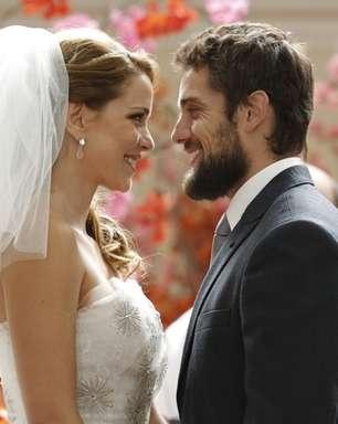 Surpresa! Vicente se casa com Cristina em 'Império'