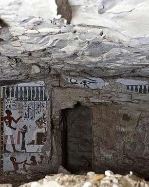 Tumba faraônica de mais de 3 mil anos é descoberta no Egito