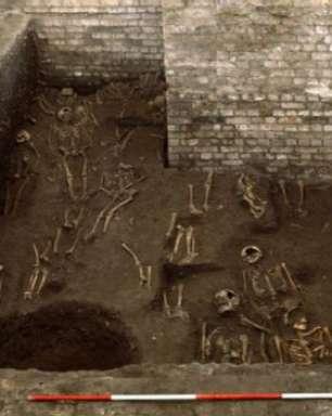 Cemitério medieval é achado sob Universidade de Cambridge