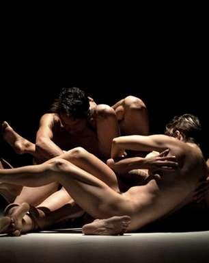Bailarinos nus encenam peça de Beckett no Sesc Belenzinho