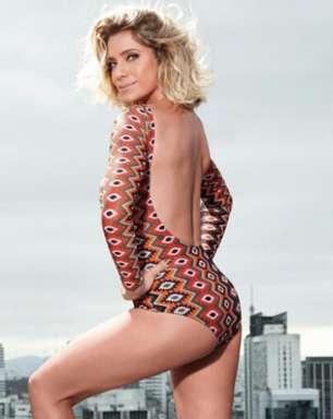 Prestes a fazer 42, Letícia Spiller estrela revista fitness