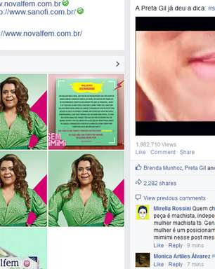 Comercial com Preta Gil é a mais nova polêmica da internet