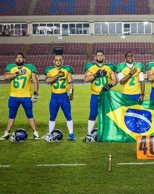 vc repórter: Seleção de futebol americano pede doações