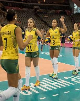 Brasil se recupera e atropela China em estreia na fase final