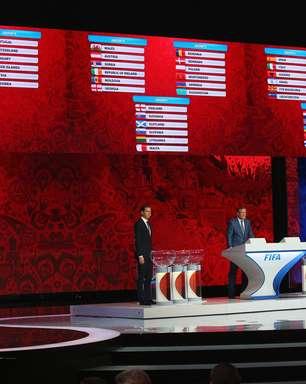 Eliminatórias terão França, Holanda e Suécia no mesmo grupo