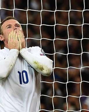 Rooney faz história, e Inglaterra vai à Euro com 1º lugar