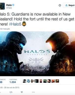 #Halo5 ganha emoji no Twitter