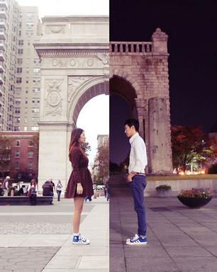 Namoro à distância vira sensação na web com fotos tocantes