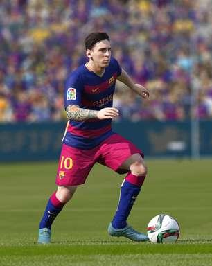 Conheça os melhores jogadores de 'FIFA 16' e 'PES 2016'