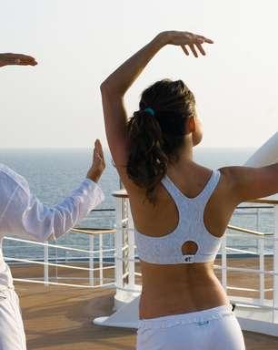 Companhia cria programa fitness que começa antes do cruzeiro