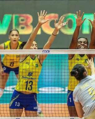 Brasil leva 3 a 0 da China e sofre 2ª derrota no Grand Prix