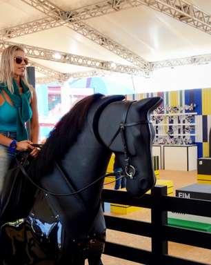 Deodoro tem 'playground' com cavalo mecânico