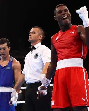 Cubano que eliminou brasileiro Michel Borges é ouro no boxe