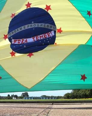 Brasília reduz bloqueio na Esplanada dos Ministérios