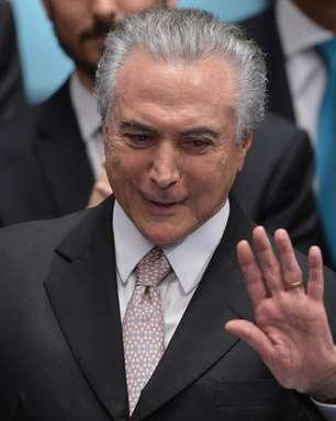 """Na TV, Temer diz que vai """"colocar o Brasil nos trilhos"""""""