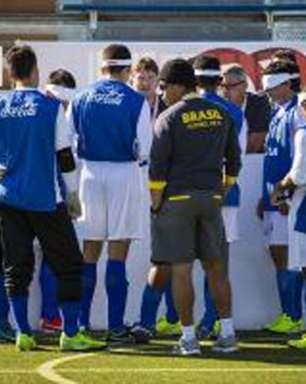 Seleção de futebol de 5 quer manter hegemonia paralímpica no Rio