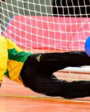 Goalball masculino do Brasil se garante nas quartas