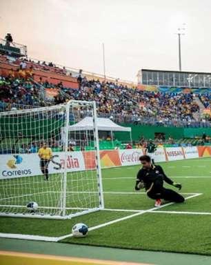 Ricardinho decide, e Brasil leva quarto ouro no futebol de 5