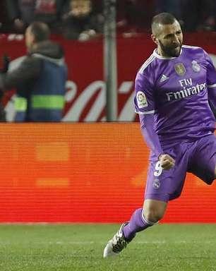 Benzema salva invencibilidade, Real elimina Sevilla e avança