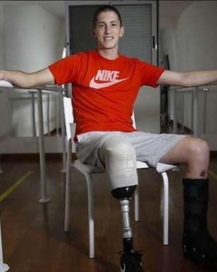 """Vale a pena viver"", diz Lars Grael para goleiro Follmann"